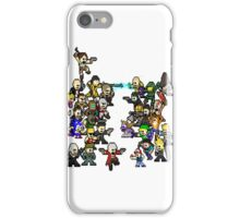 Epic 8 bit Battle! iPhone Case/Skin