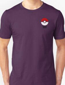 Subtle pokeball pokemon logo red and black - pokemon trainer T-Shirt