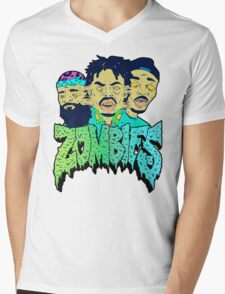 Zombies Mens V-Neck T-Shirt