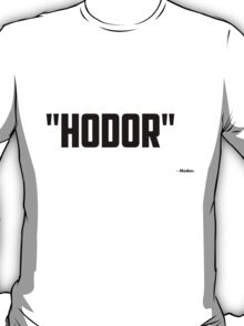Game of Thrones - Hodor T-Shirt