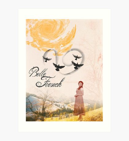 Belle French Art Print