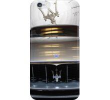 Maserati Alferi Concept Car Front End iPhone Case/Skin