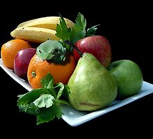 Fruit Platter by Steven  Agius