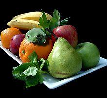 Fruit Platter by Steven  Agius