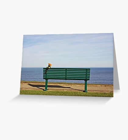 Sea - A View  Greeting Card