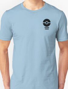 Subtle pokeball pokemon logo black - pokemon trainer T-Shirt