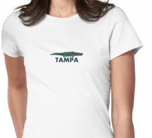 Tampa - Florida. Womens Fitted T-Shirt