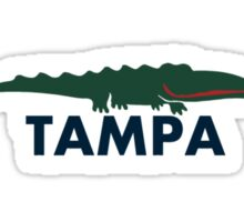 Tampa - Florida. Sticker