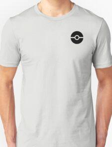 Subtle pokeball pokemon logo black - no words Unisex T-Shirt