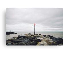Sidmouth Beach Canvas Print