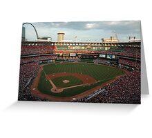 Bush Stadium Greeting Card