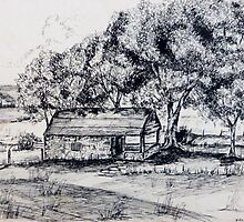 Spring House at Linden Farm by JKHowsarePearl