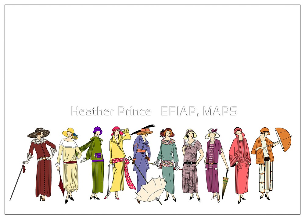 Pretty Maids All in a Row by Heather Prince