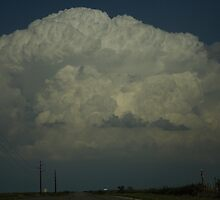 Atomic bomb updraft explodes in SW Texas by jdeguara