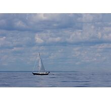 The Yacht Photographic Print