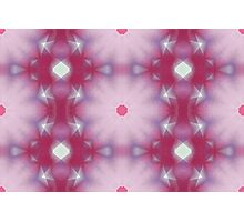 Fluffy Pink Flowers - 1 Photographic Print