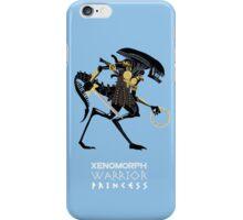 Xenomorph Warrior Princess iPhone Case/Skin