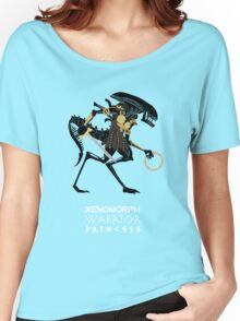 Xenomorph Warrior Princess Women's Relaxed Fit T-Shirt