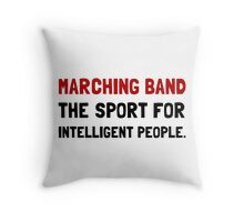 Marching Band Intelligent Throw Pillow