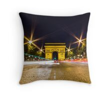 Arc De Triomphe 10 Throw Pillow