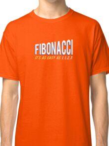 Fibonacci It's as Easy as 1, 1, 2, 3 Classic T-Shirt