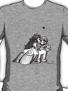 Peach and Mario Valentines T-Shirt