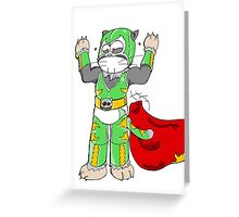 Luchat Libre Greeting Card