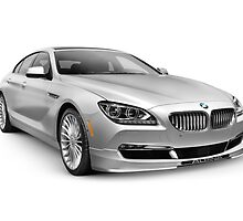 2015 BMW Alpina B6 Gran Coupe luxury car art photo print by ArtNudePhotos