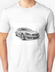 2015 BMW Alpina B6 Gran Coupe luxury car art photo print T-Shirt