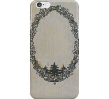 Antique book cover with edelweiss iPhone Case/Skin
