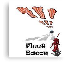 Protoss Fleet Bacon eer.. Beacon Canvas Print