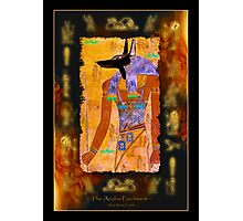 """The Anubis Parchment"" Photographic Print"