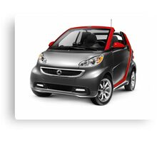 Smart Fortwo Electric Drive Cabriolet electric car art photo print Canvas Print