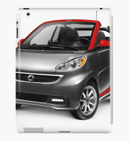 Smart Fortwo Electric Drive Cabriolet electric car art photo print iPad Case/Skin