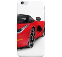 Ferrari F150 LaFerrari supercar sports car art photo print iPhone Case/Skin