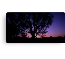 Thursday Sunset Canvas Print