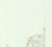 Maine USGS Historical Map Moose Bog 306666 1927 62500 by wetdryvac