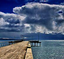 """Rainstorm Over Louititt Bay"" by Phil Thomson IPA"