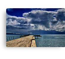 """Rainstorm Over Louititt Bay"" Canvas Print"