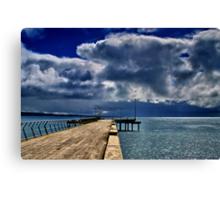 """Rainstorm Over Louititt Bay"" Canvas Print"