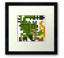 Pixel Rathian Framed Print