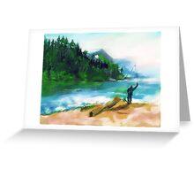 FLY FISHING(C2007) Greeting Card