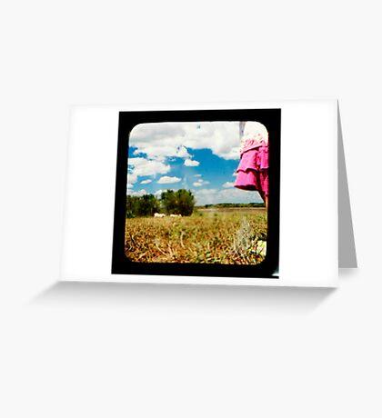 Urban Greets Rural Greeting Card