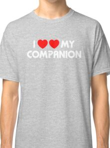 I Two-Heart My Companion Design (Black) Classic T-Shirt