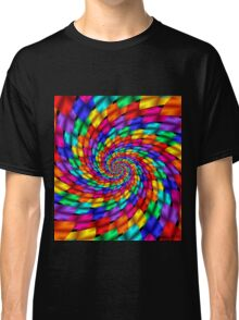 Psychedelic Ribbons Classic T-Shirt