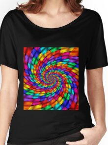 Psychedelic Ribbons Women's Relaxed Fit T-Shirt
