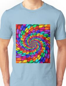 Psychedelic Ribbons Unisex T-Shirt