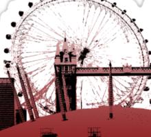 London Calling. Sticker