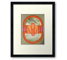 Graphic Leggings Framed Print
