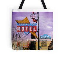 santa fe motel 2 Tote Bag